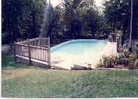 Lakeside Fiberglass Pool